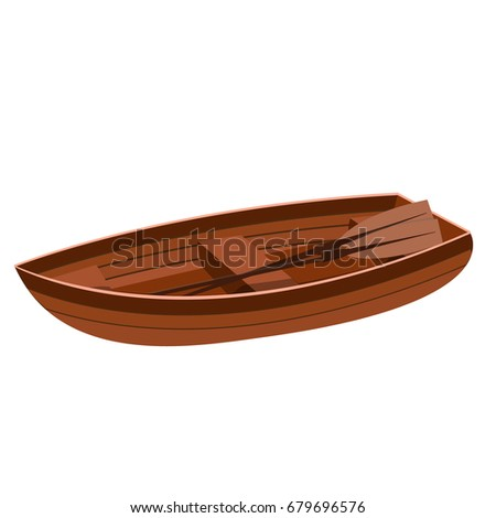 a beautiful large wooden boat