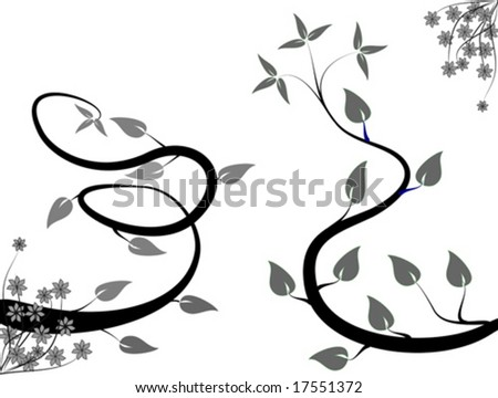 black and grey backgrounds. winding lack and grey