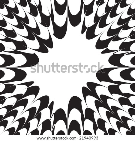 A black and white layout with plenty of copy space. Easily edit this vector image any way you want.