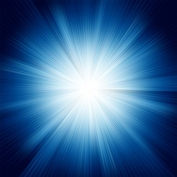 A Blue color design with a burst. EPS 8 vector file included