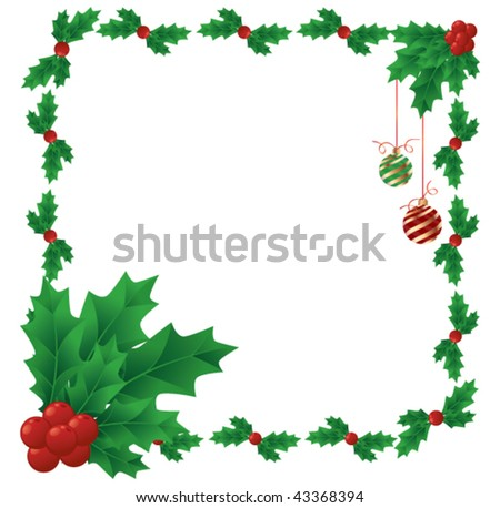Coloring Picture Of A Mistletoe
