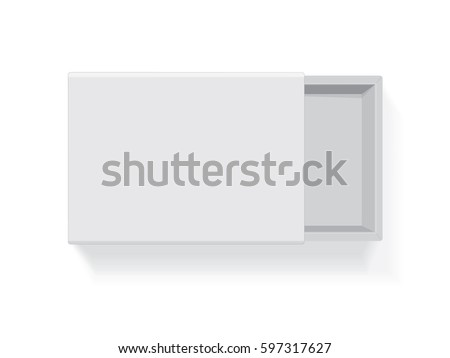 A box for your logo and design. It's easy to change colors. Mock up. Vector EPS 10