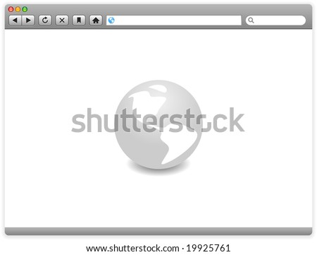 A browser window