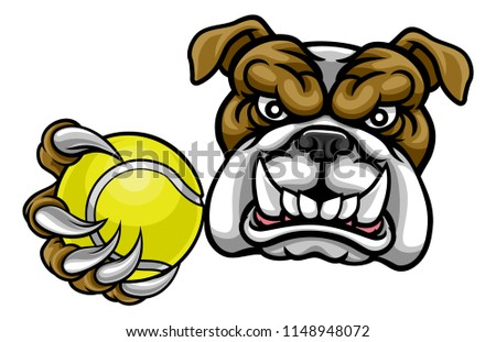 a bulldog angry animal sports