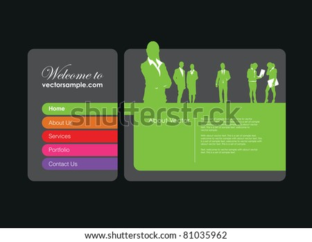 a business people website banner