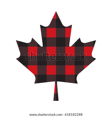 a canadian maple leaf made out