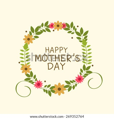 a card happy mother's day. #269352764
