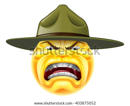 a cartoon angry emoji emoticon