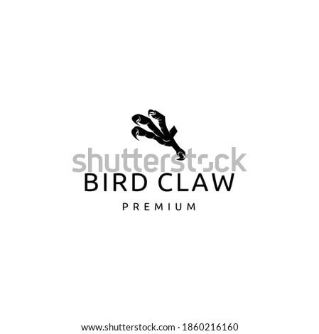 A cartoon Eagle Bird Claw with Long Talons Photo stock ©
