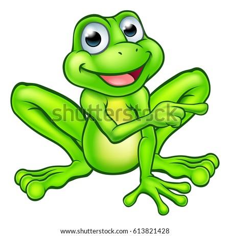 cartoon frog graphics download free vector art stock graphics rh vecteezy com Cute Frog Silhouette Leaping Frog Clip Art