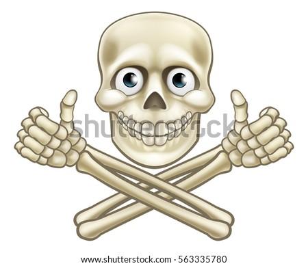 a cartoon halloween pirate