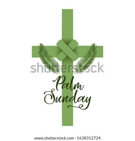 a christian palm sunday
