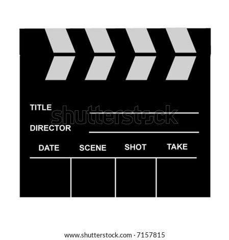 blank film slate - photo #23