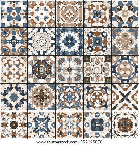 a collection of ceramic tiles...