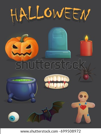 a collection of spooky