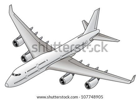 A common and popular long haul passenger jet.