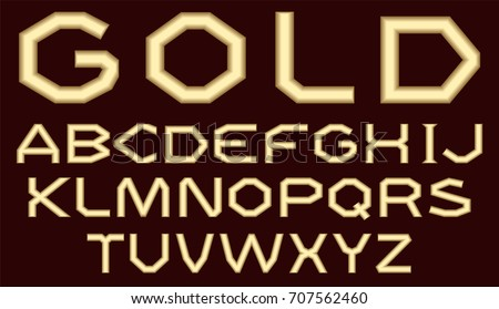 a complete set of latin letters