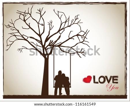 Как сделать силуэт дерева 184