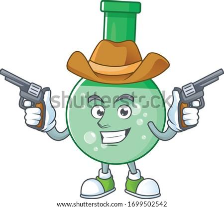 a cowboy cartoon character of