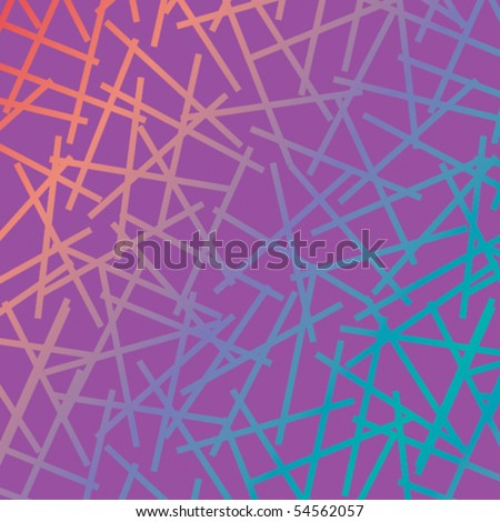 A criss-cross, colorful vector pattern.