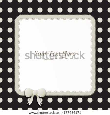 Vector Images, Illustrations and Cliparts: A cute black and white ...