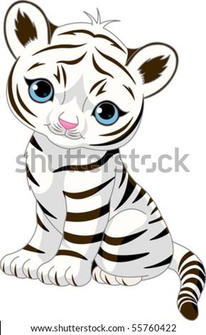 cute white tiger wallpaper. vasydu: White Tiger Cubs