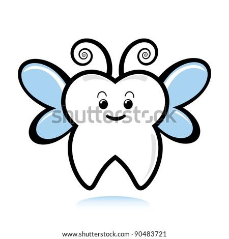 A cute tooth fairy.