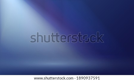 a dark space or room with rays