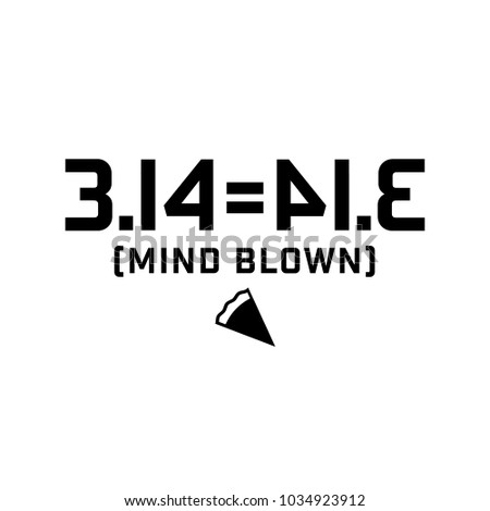 A design for PI day, which is March 14.  Good to put on your shirt or mug, etc.