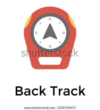 a device designed as backtrack