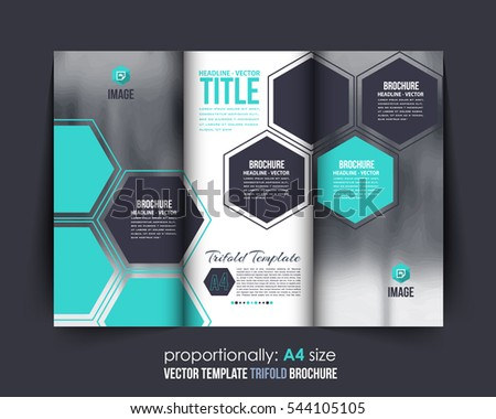tri fold brochure vector download free vector art stock graphics