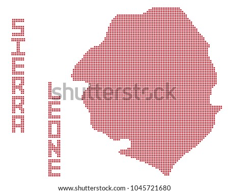 a dot map of sierra leone