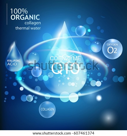 a drop of hyaluronic acid  an