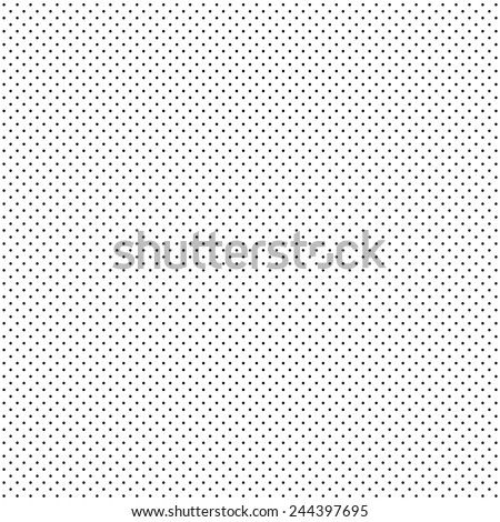 A fine dotted texture- black and white vector pattern