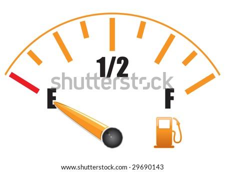Fuel Gauge Clipart- #dluce