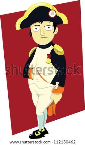 a funny portrait of napoleon iii