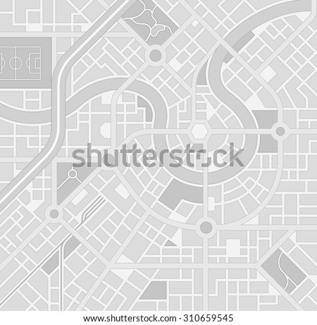 a generic city map pattern of