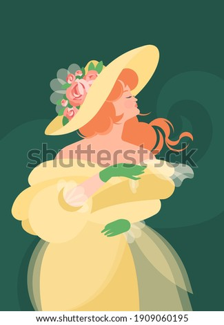 a girl in a yellow fluffy dress