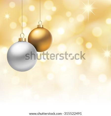 a golden christmas background