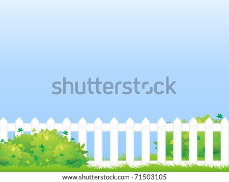 a green lawn with shrubs and