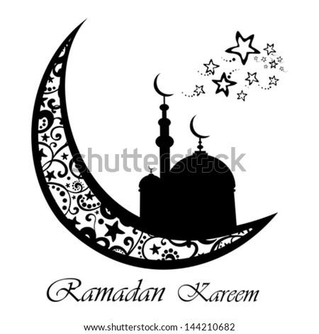 royalty free a greeting card template ramadan 144142012 stock
