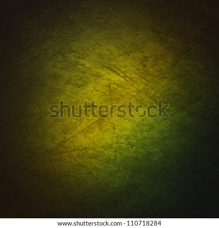 A grunge textured background with a gradient of green.