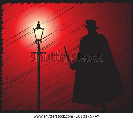 a grunged silhouette of jack