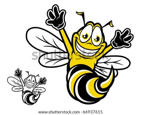 Free Hornet Cartoon Vector