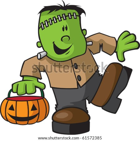 Animated Frankenstein Cartoon http://www.shutterstock.com/pic-61572385/stock-vector-a-happy-cartoon-juvenile-frankenstein-vector-file-available.html