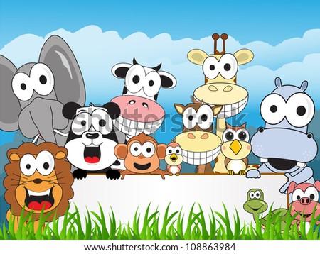 a happy family zoo