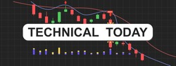 A header vector of technical analysis today for research article and broker strategy.