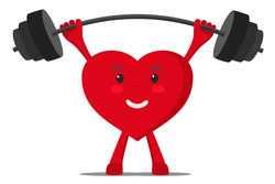 A healthy heart raises the bar with weights.