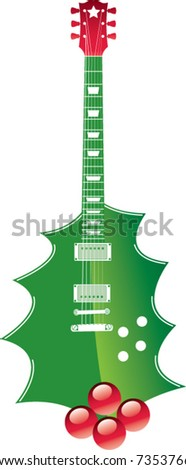 A holly Guitar