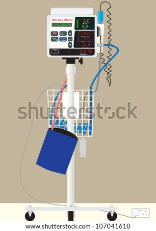 hospital blood pressure machine